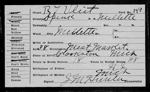1905 South Dakota Census