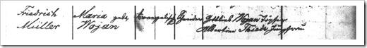 MILLER, Emil Baptism Register (Page 2)